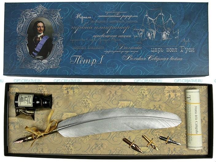 Подарочный набор для письма Петр I