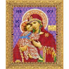 Набор для вышивания Пресвятая Богородица Владимирская