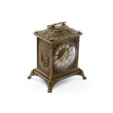 Бронзовые каминные часы Ларец