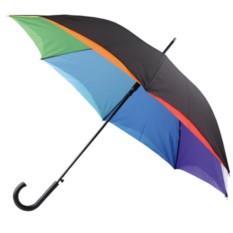 Полуавтоматический зонт-трость Радуга