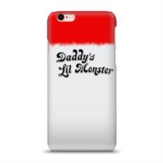 Чехол для Apple iPhone 6/6S 3D Daddy's lil monster