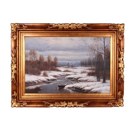 Картина «Лесная речка»