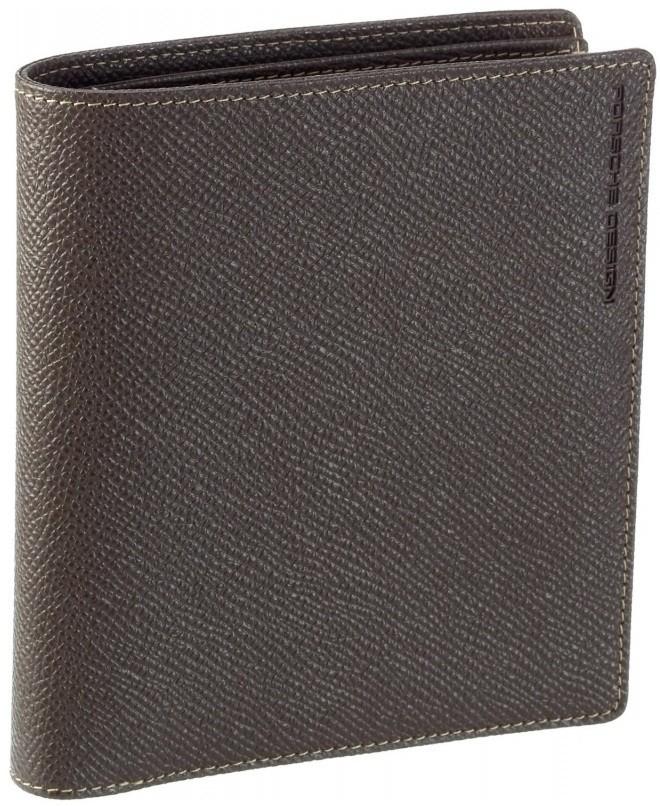 Бумажник Porshe Design V14, коричневый