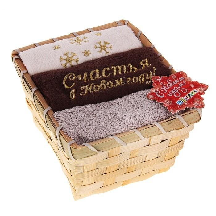 Набор полотенец Шоколадный новый год
