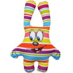 Игрушка-антистресс Зайка (цвет — полосатый)