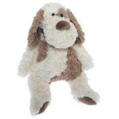 Мягкая игрушка Белая собака (38 см)
