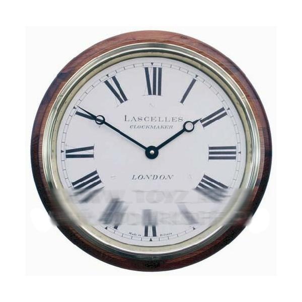 Классические часы со стеклом большие