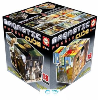 Магнитный кубик «Картины»