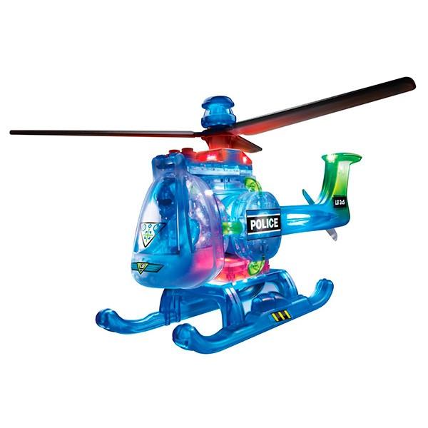 Конструктор Lite Brix Вертолет с подсветкой