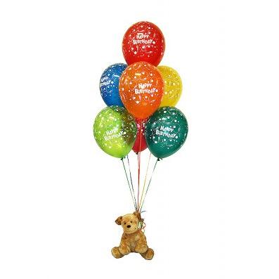 Букет шаров с игрушкой