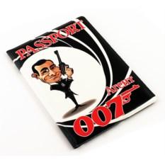 Обложка на паспорт Агент 007
