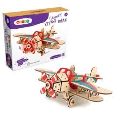 Деревянный конструктор самолет Крутой вираж