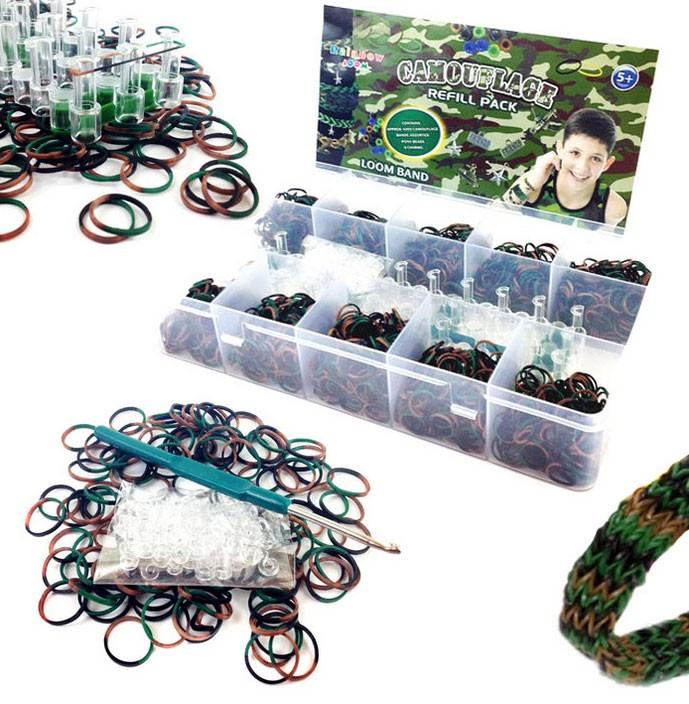 Набор для плетения «Loom Bands 15000 profi»