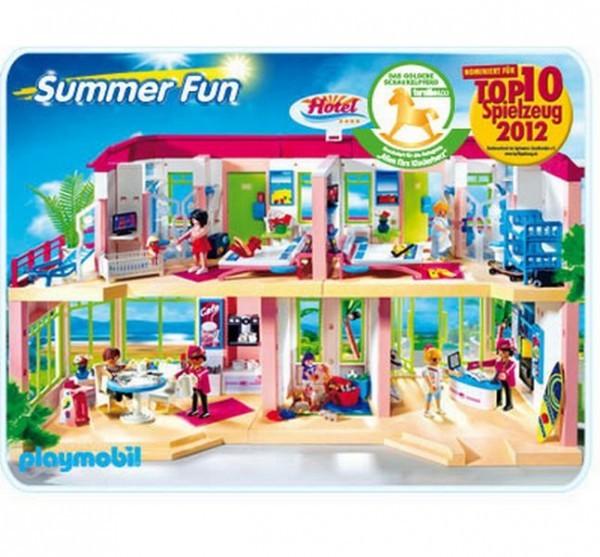 Конструктор Playmobil Summer Fun Большой отель