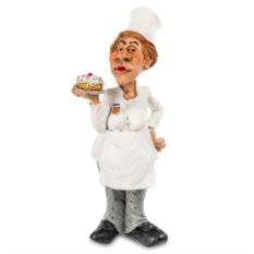 Статуэтка  Шеф-повар женщина 18 см.