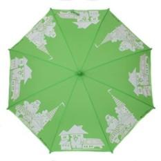 Зеленый детский зонт Flioraj