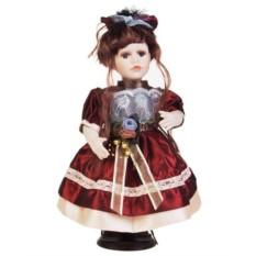 Фарфоровая кукла Кареглазая малышка (31 см)
