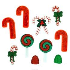 Декоративные пуговицы Dress It Up Рождественские сладости