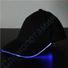 Светящаяся LED кепка