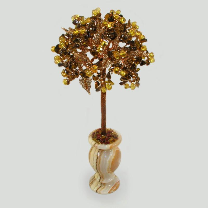 Дерево из янтаря Тепло любви