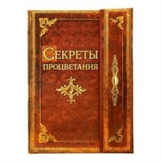 Записная мини-книга Секреты процветания