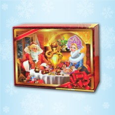 Красочная подарочная коробка