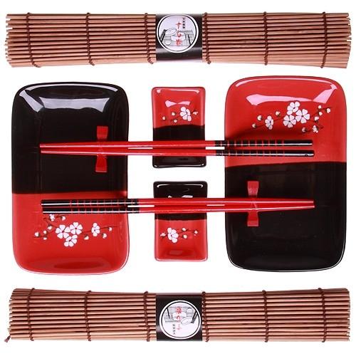 Набор для суши «Красная сакура»