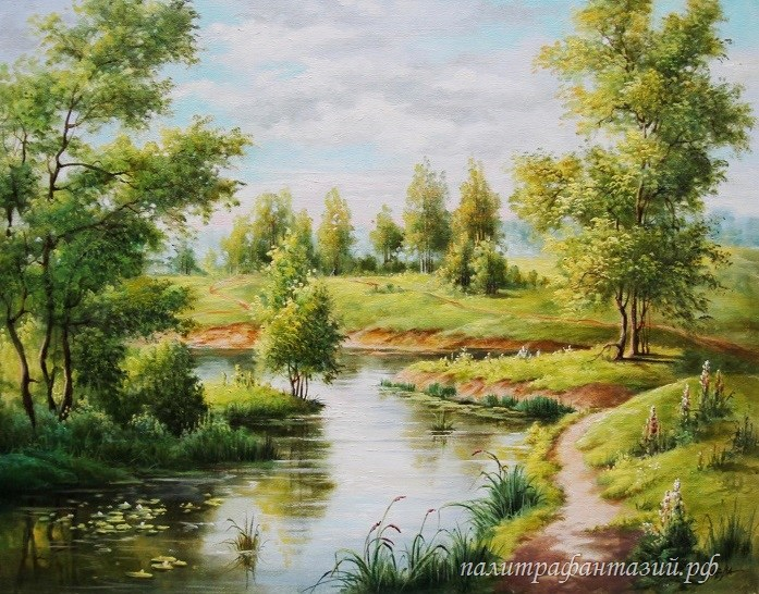 Картина Русское лето