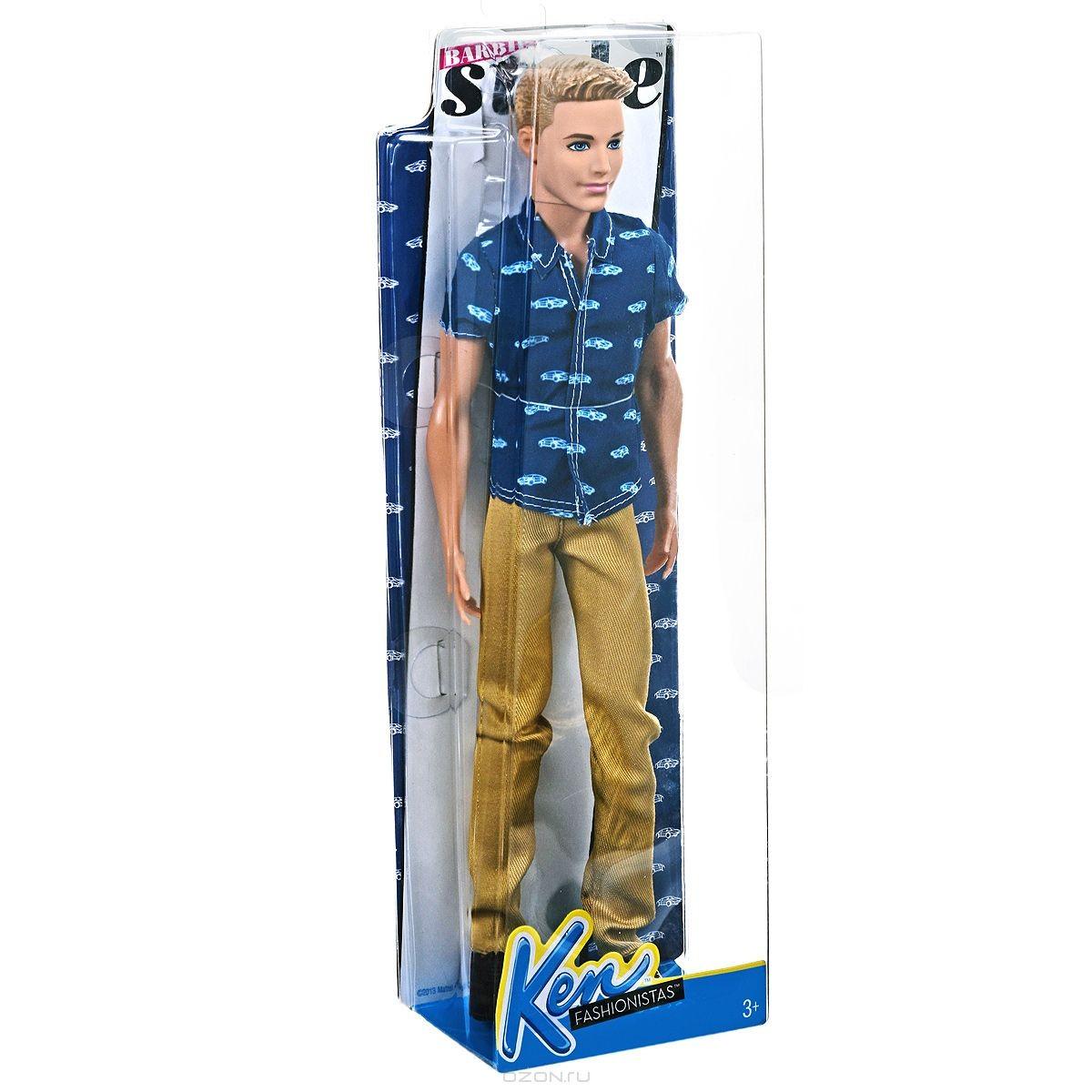 Кукла Кен блондин
