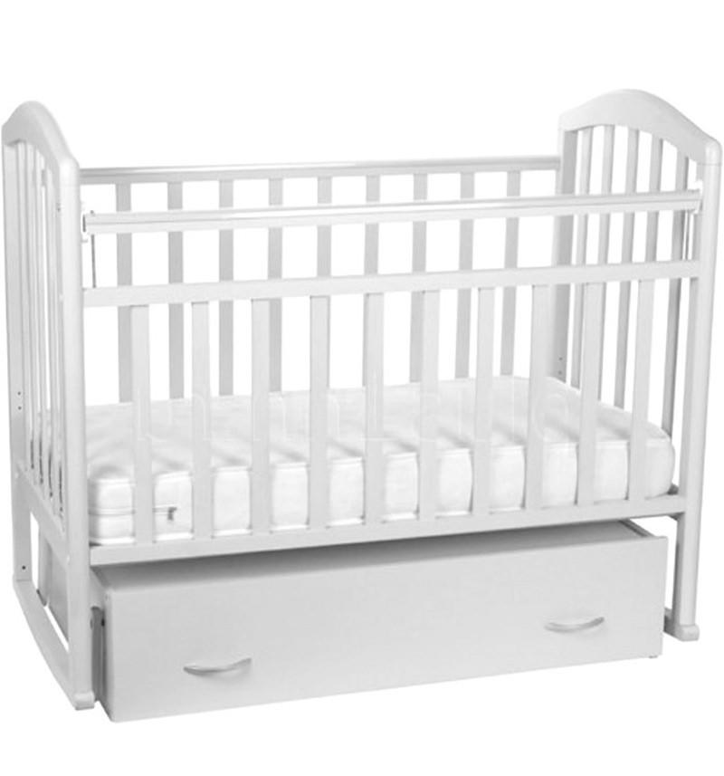 Кровать-маятник/качалка Алита 4, белая