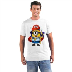 Мужская футболка Rus миньон