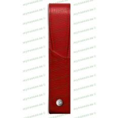 Кожаный футляр для одной ручки Caran d`Ache Leman Red