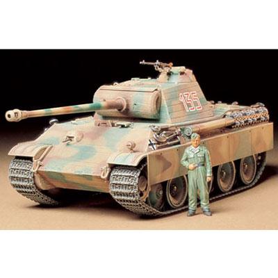 Танк Panther Type G (ранняя версия)