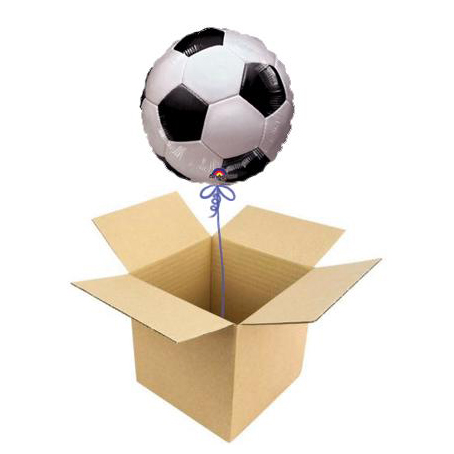 Шар в коробке «Футбол»