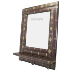 Кабинетное зеркало с вешалками Стопка книга