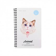 Тетрадь А5 Animal Кот