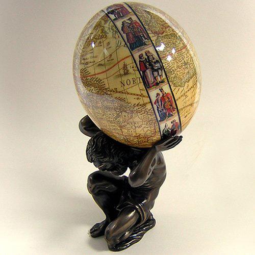 Подарочное страусиное яйцо