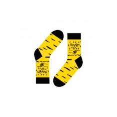 Носки Go to Piter (цвет — желтый)