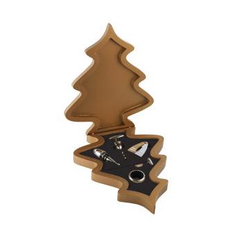 Набор аксессуаров для вина «Рождественская ёлка»