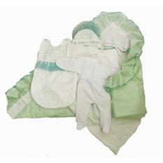 Летний комплект на выписку малыша с одеялом