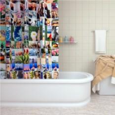 Штора для ванной с фотопечатью