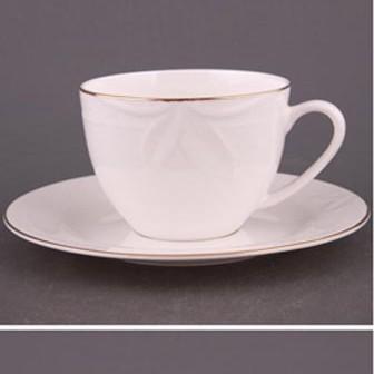 Чайный набор на 6 персон Белый Классика