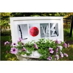 Картина из фото Love