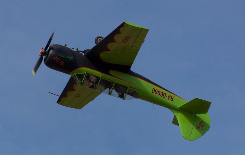 Сложный пилотаж на самолете Як-52