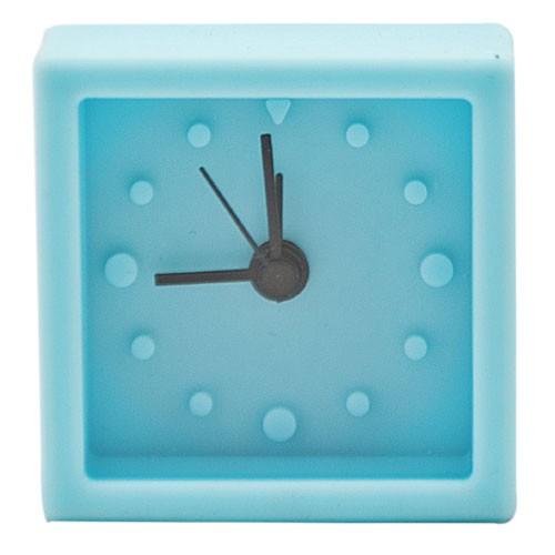 Часы-будильник Simply (голубые)