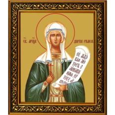Дария Римская Святая мученица, икона на холсте.