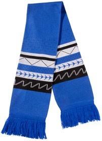 Синий шарф Скандинавия