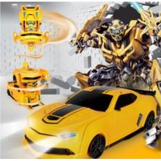 Радиоуправляемый робот трансформер Chevrolet Camaro