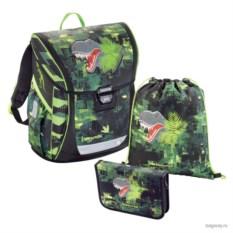 Зеленый школьный ранец Step by Step School BaggyMax Fabby