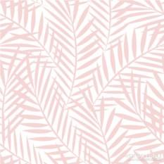 Бумажные салфетки Palm leaves rose